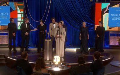Gala histórica de los Óscar: «Nomadland», mejor película